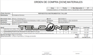 O.C. Imprimir